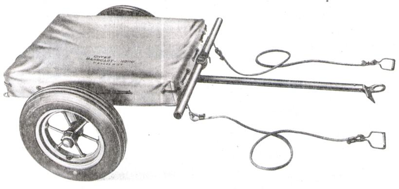 hand cart m3a4 with m500 cover and tow ropes as shown on the back cover of ord9snl a42 dated 1 june