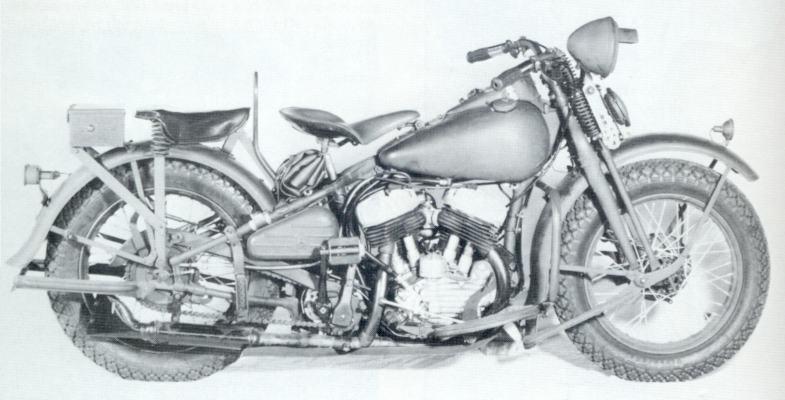 Harley Parts Drawings Harley-davidson Military Model