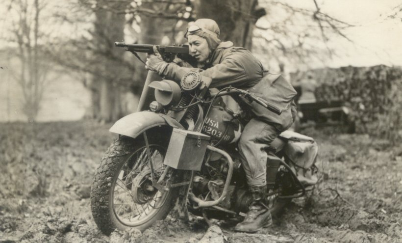 Harley-Davidson WLA/WLC TypeIII-M1928TSMG-England1943